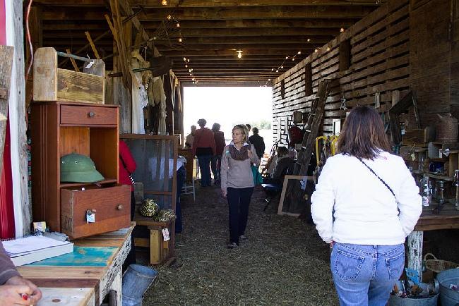 The Junk Ranch in the barn Prairie Grove