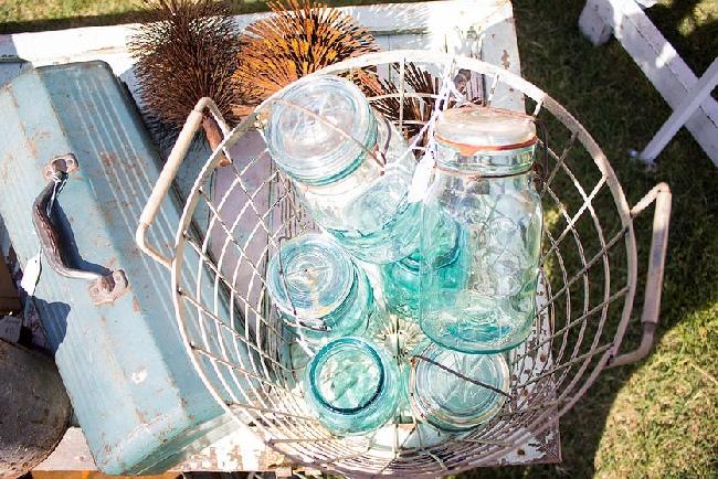 The Junk Ranch mason jars Prairie Grove