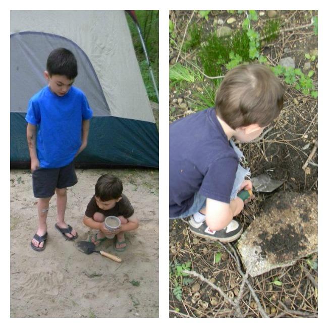 boys hunting for treasure 2