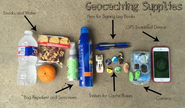 geocaching supplies