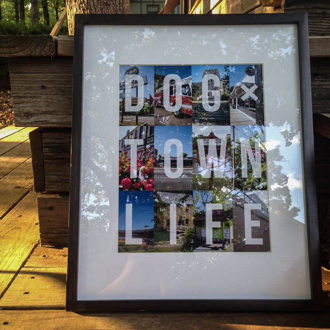 North Little Rock - Dogtown Life print