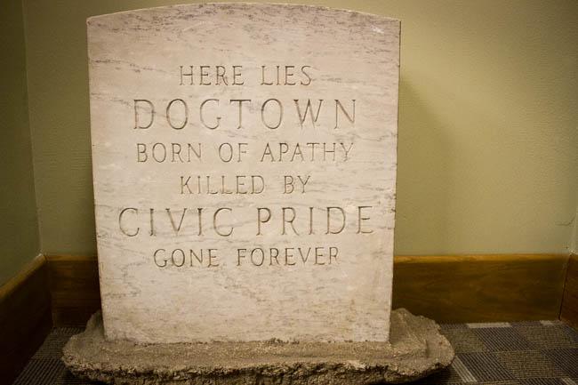 North Little Rock - Dogtown gravestone
