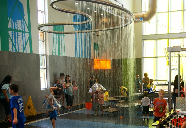 Amazeum water play 2015