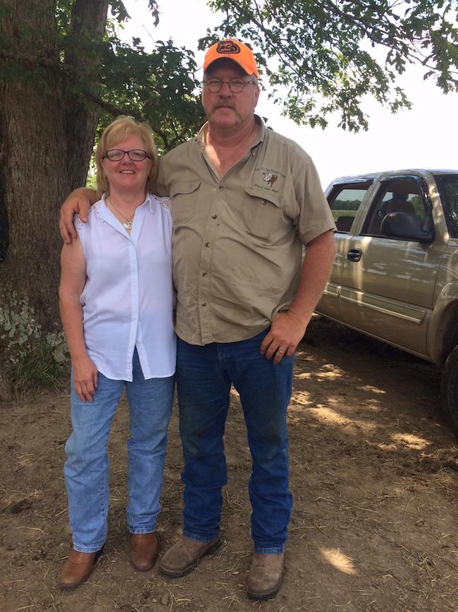 Bart and Pam Petray
