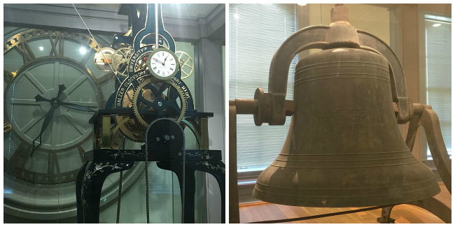 Clock and Bell, Old Main