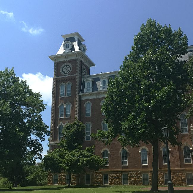 North Tower, Old Main, University of Arkansas