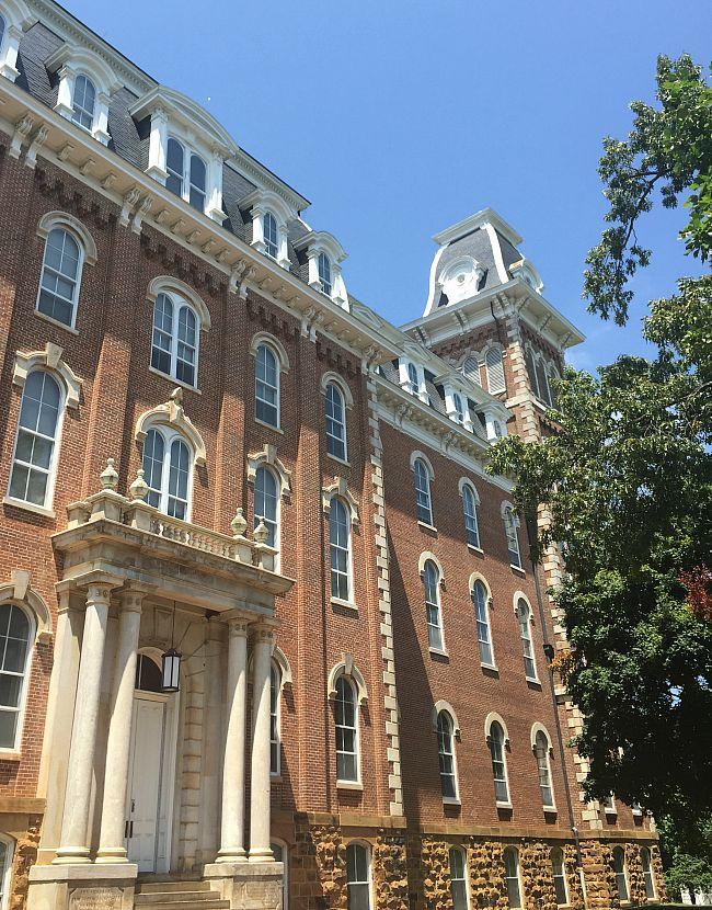 Old Main, University of Arkansas - Second Empire Architecture