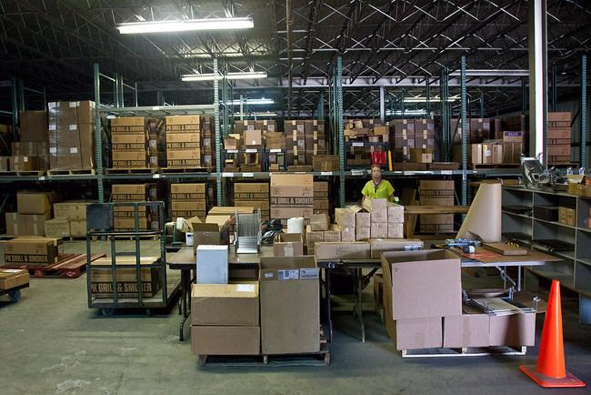 PK Grill manufacturing setup