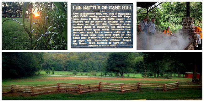 Battle of Cane Hill Collage