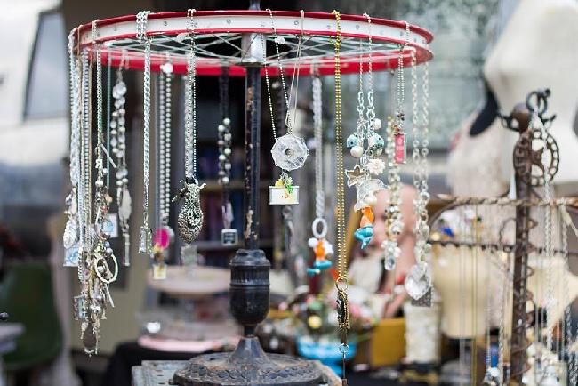 Junk Ranch repurposed jewelry Prairie Grove