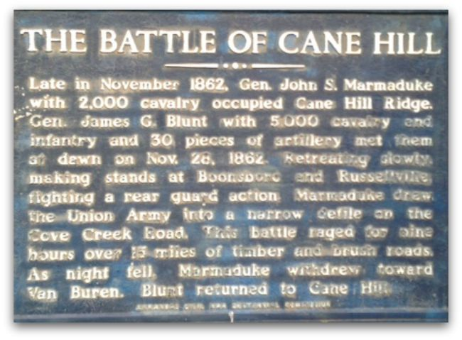 The Battle of Cane Hill