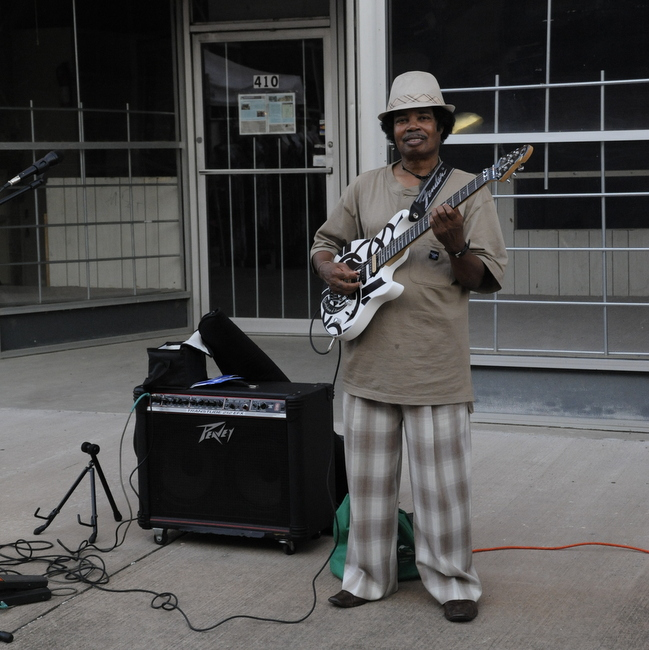 3 Street Musician King Biscuit Blues Festival
