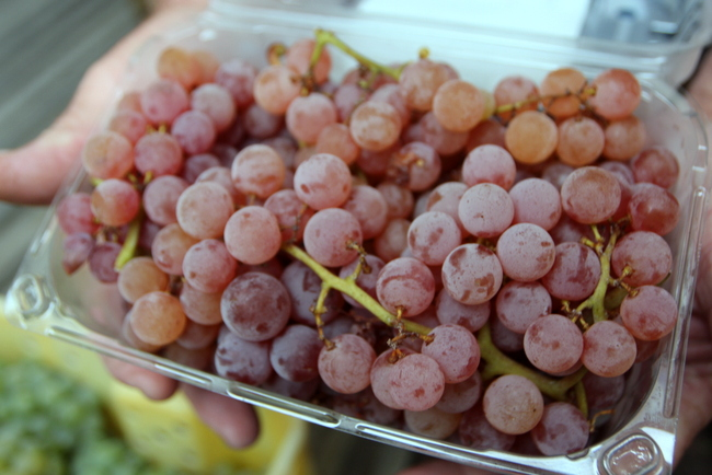 ArkansasTable Grapes in package