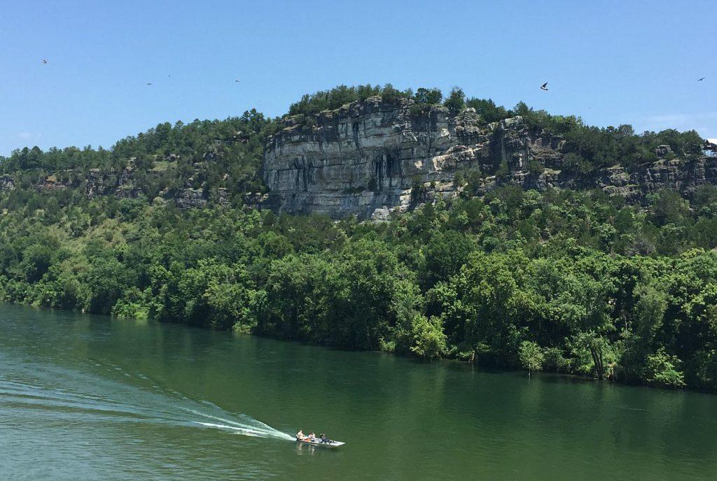 Calico Rock - Bluffs & White River