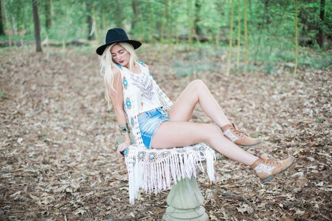 Fringe Clothing Model in Woods