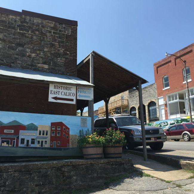 Main Street Calico Rock