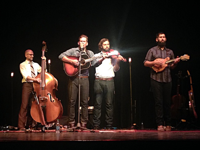 The Steel Wheels Delight the Crowd at the Ozark Folk Center