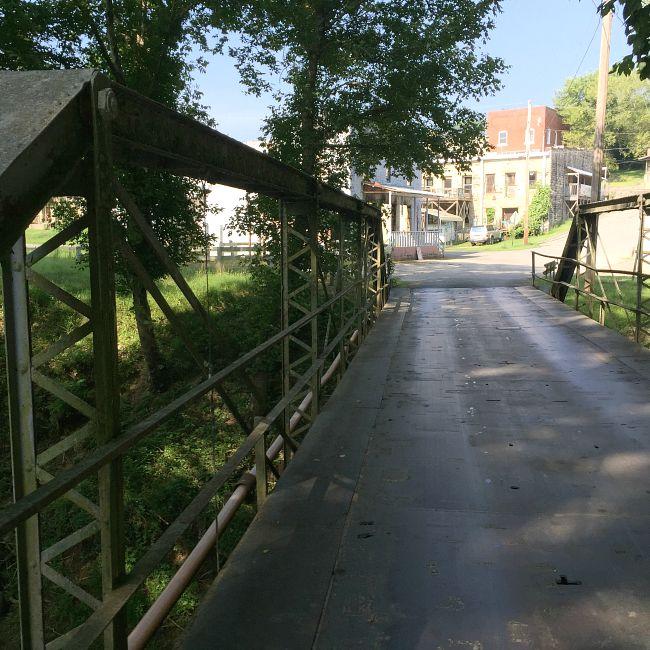 Trestle Bridge facing West