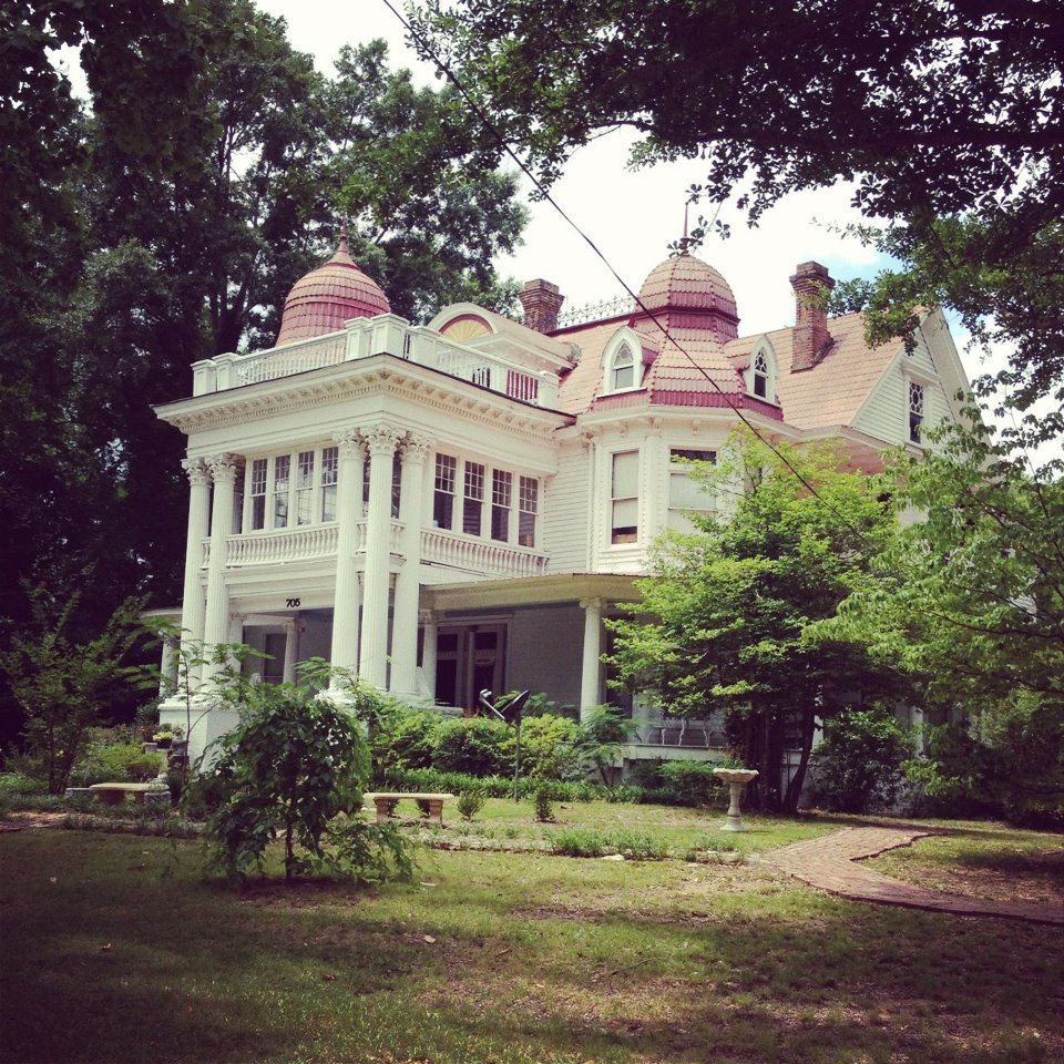 The allen house monticello only in arkansas for Allen house