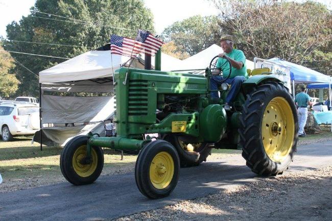 antique tractor parade