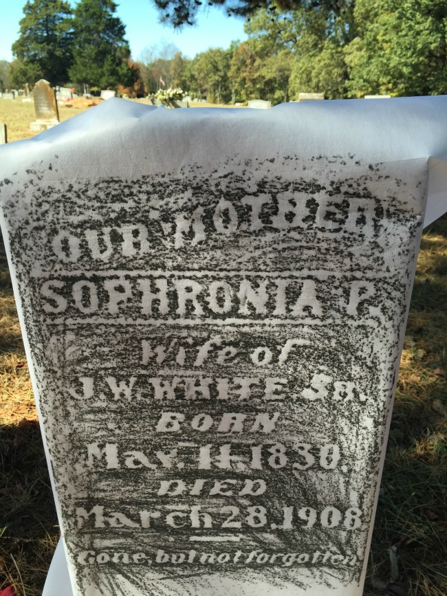 What fabric is the best for rubbings at a cemetery? Writing materials?