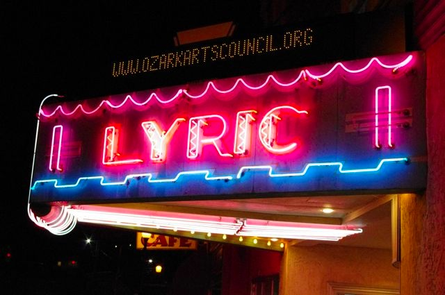 2 The Ozark Arts Council and the Historic Lyric Theatre Marquee