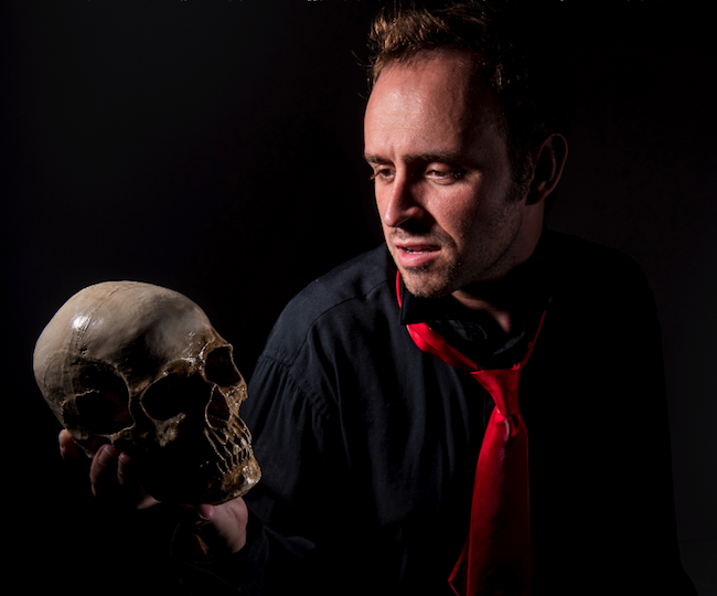 6 Alas Poor Yorick Daniel Seay Northark Drama and The Theatre Company Present Hamlet Live at the Historic Lyric Theatre