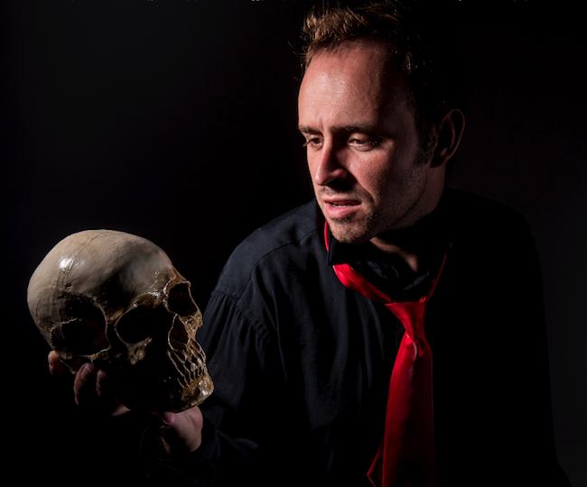 6 Alas Poor Yorick Daniel Seay Northark Drama and The Theatre Company Present Hamlet Live at the Historic Lyric Theatre