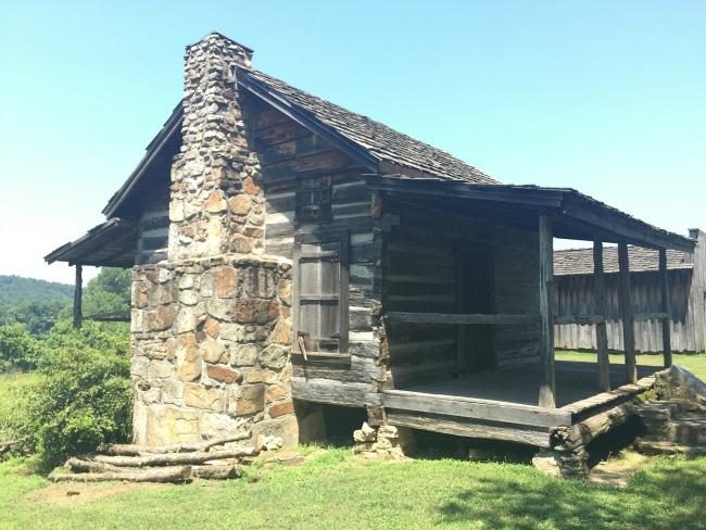 John Wolf Cabin and Blacksmith Shop