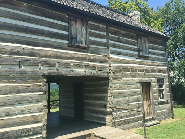 Well preserved Jacob Wolf House