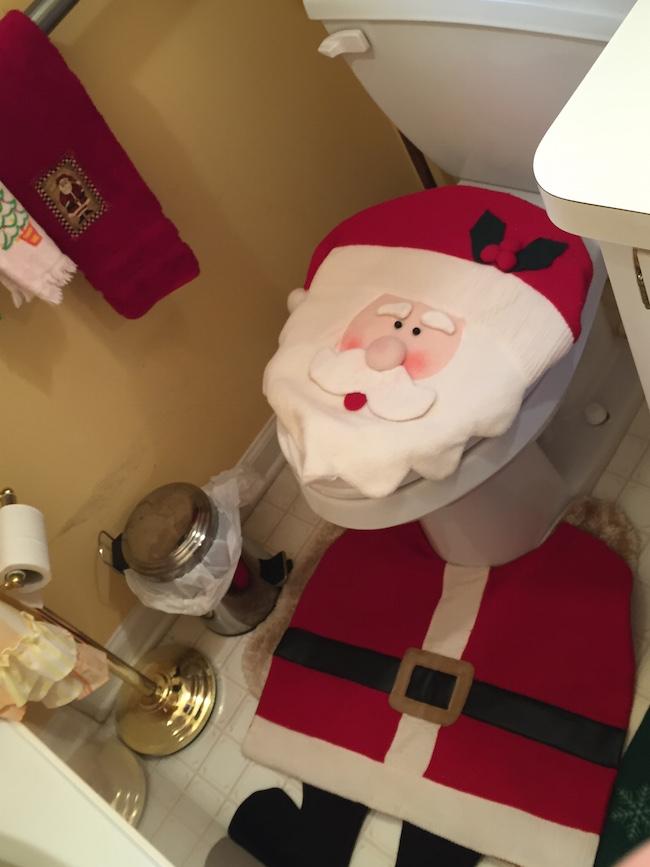 Santa Lady Bathroom
