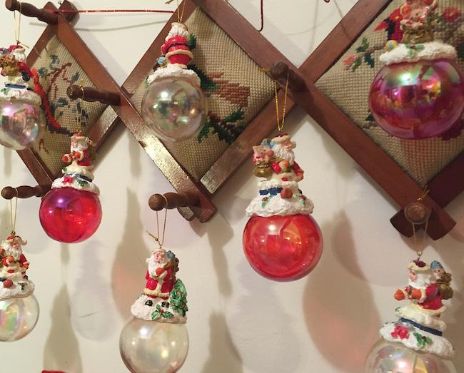 Santa Lady Ornaments