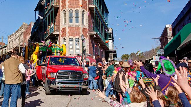 4 Eureka Gras Parade by Grav Weldon downtown