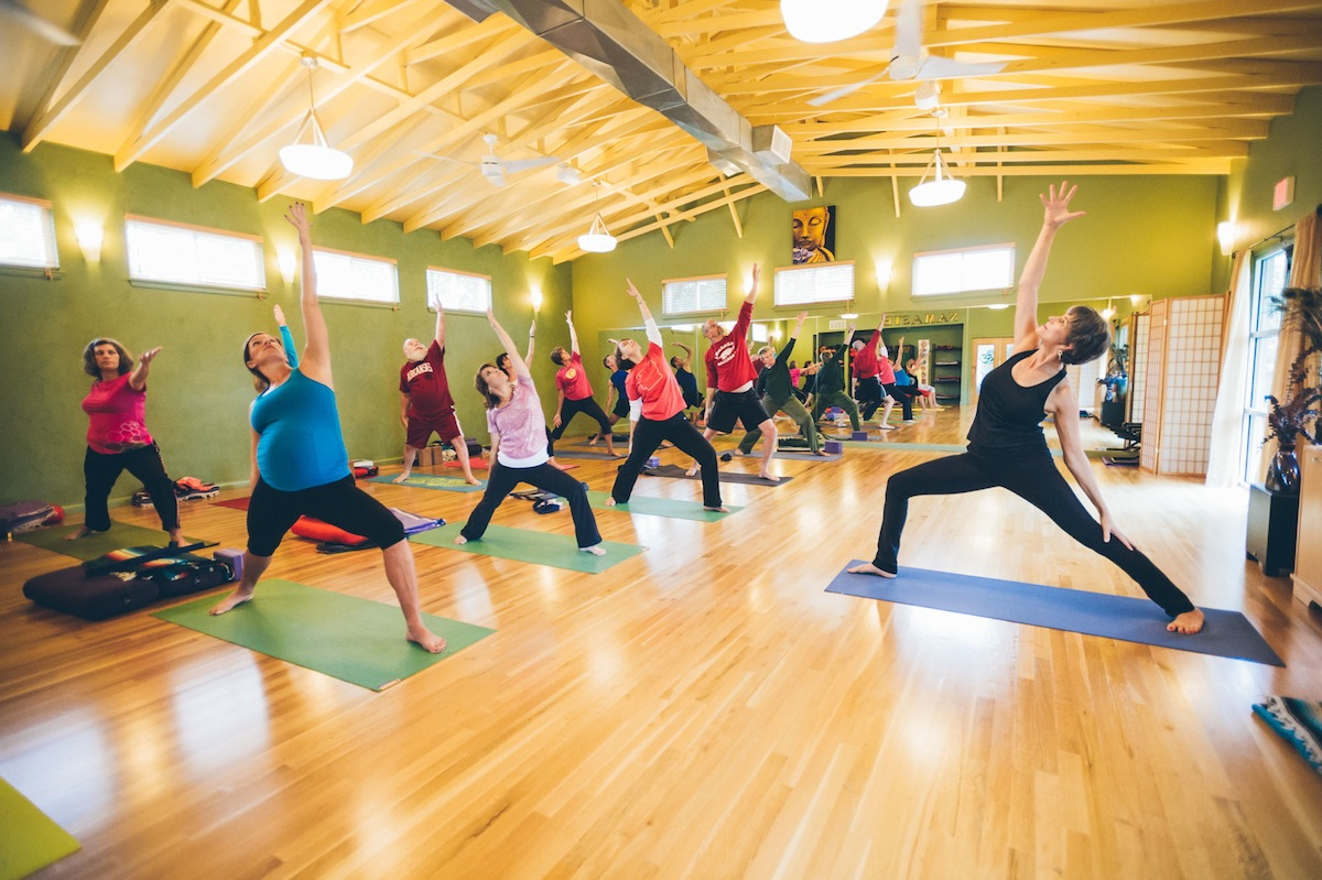Improving Body Breath And Mind At The Arkansas Yoga