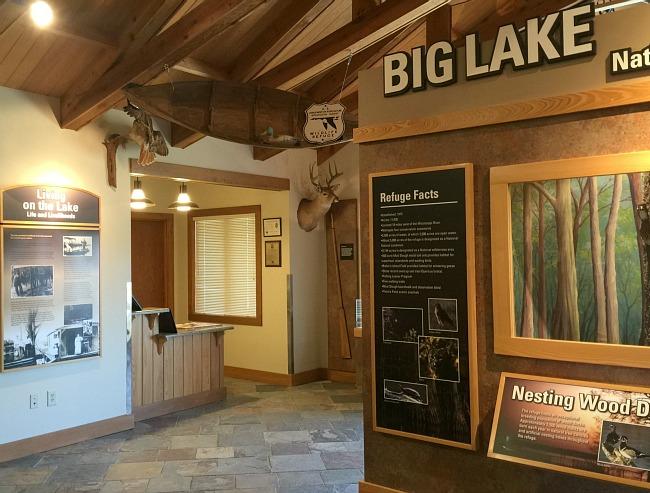 Big Lake Visitor Center