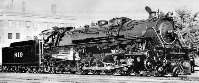 Engine 819 - Arkansas Railroad Museum