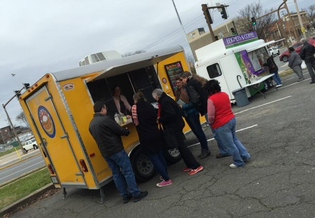 Food Truck Crowd