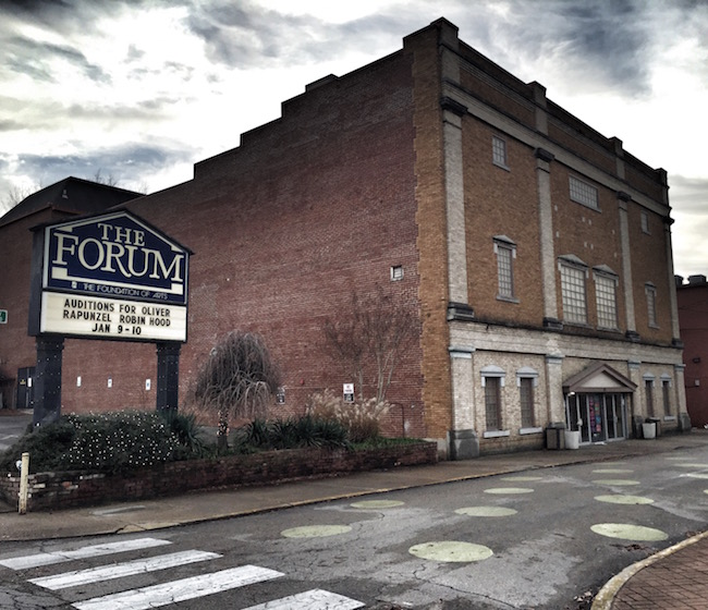 the forum and the foundation of arts only in arkansas
