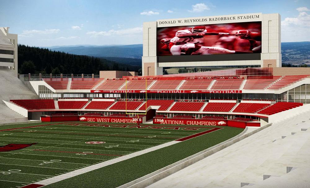 160 Million Razorback Stadium Expansion Only In Arkansas