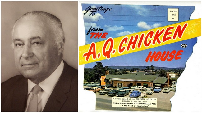2 AQ Chicken House Roy Ritter and an old postcard