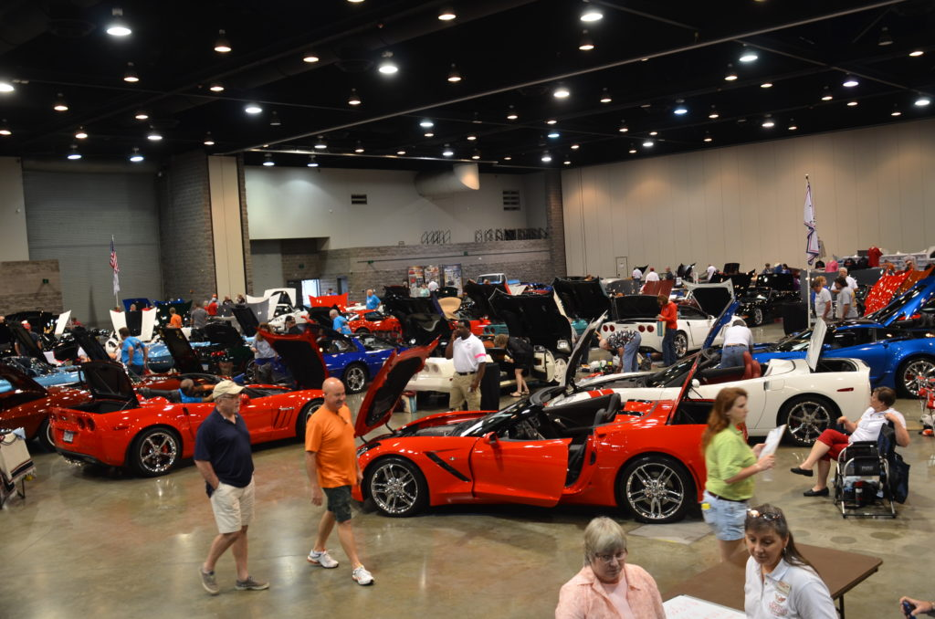 Th Annual Corvette Weekend Only In Arkansas - Indoor car show