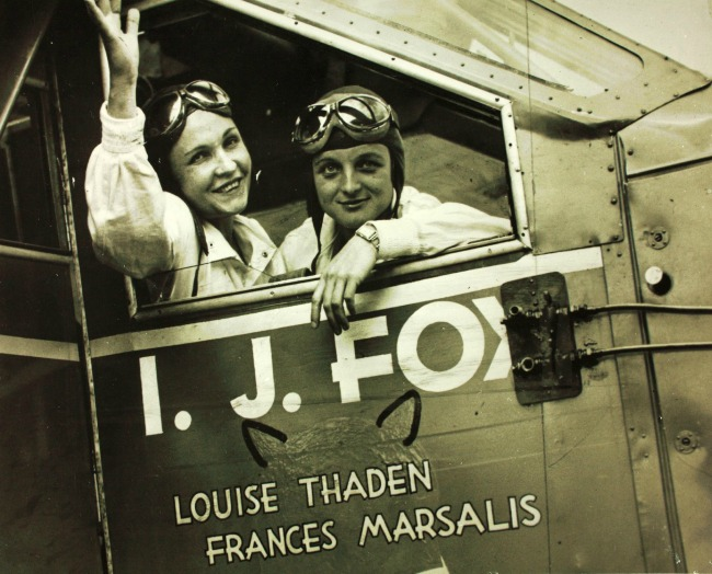 Louise Thaden and Frances Marsalis 1932