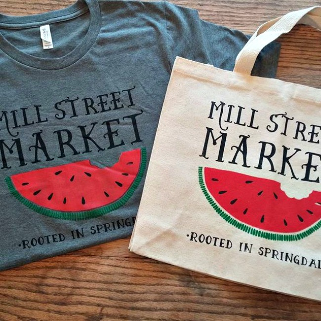 Mill Street market products