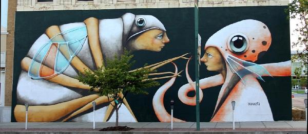 Unexpected Murals Ana Maria