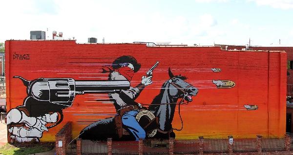 Unexpected Murals DFace Badlands