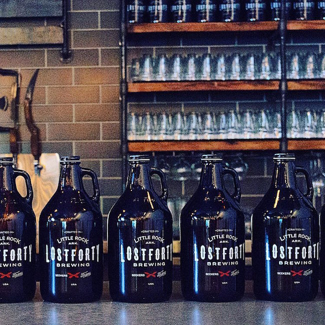 lost forty growlers