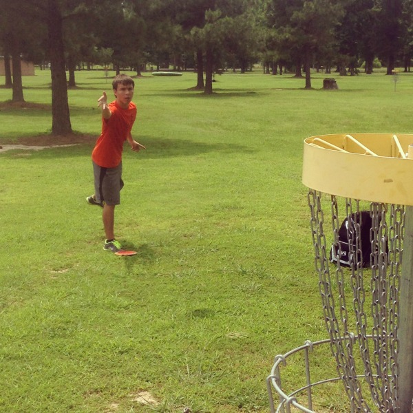 Disc Golf Throw