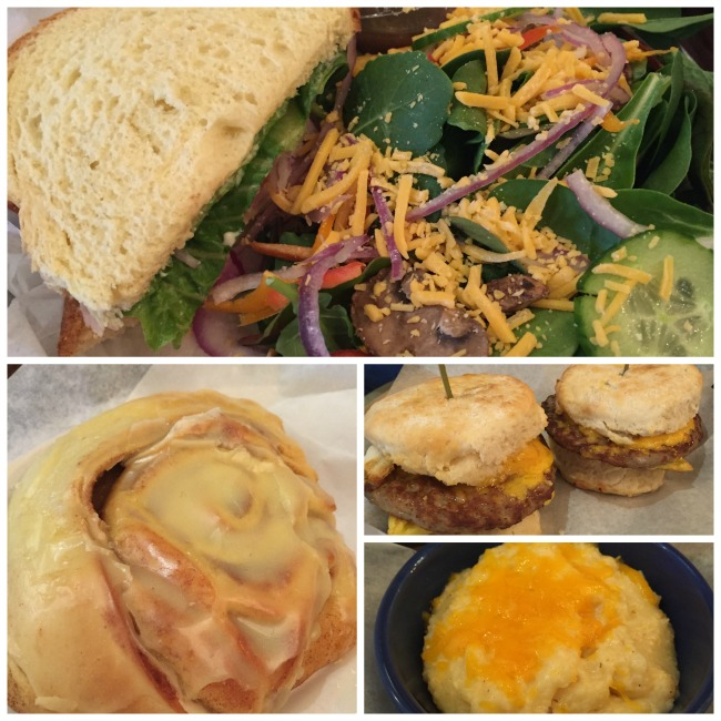 Parsonage food collage