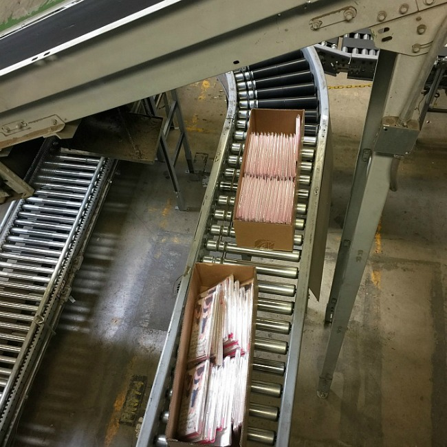 AG-ten miles of conveyor belts!