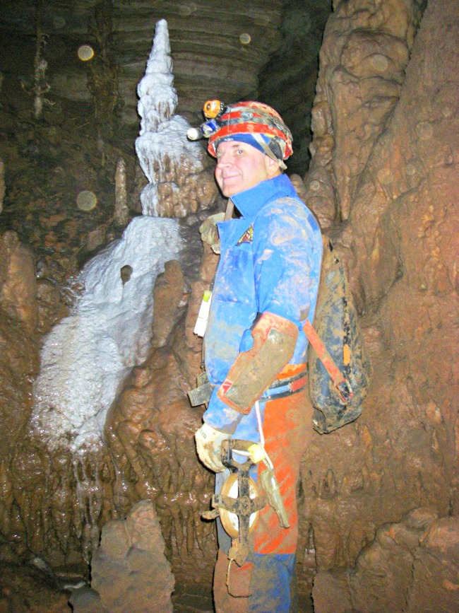 Caver Terry Mitchell
